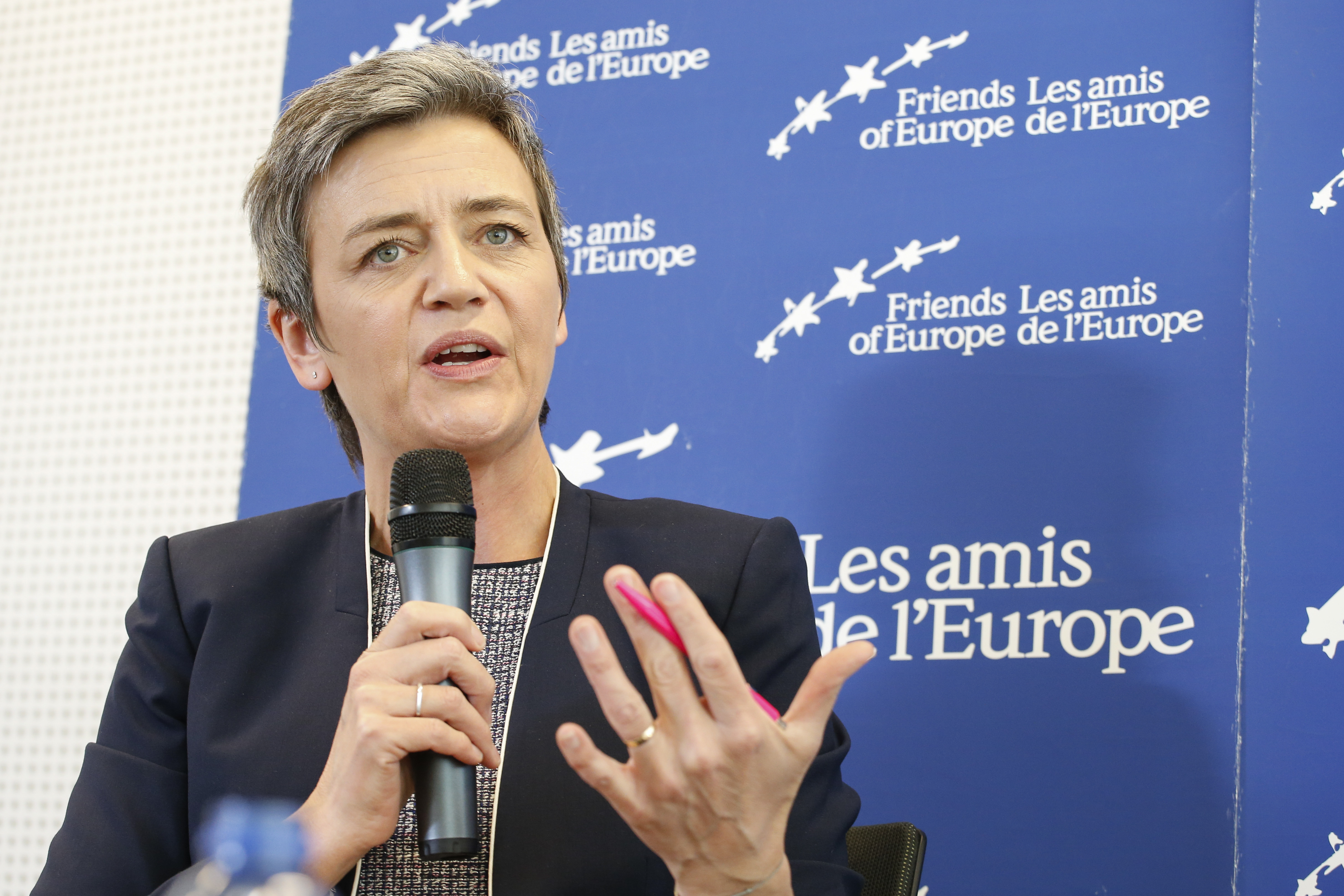 Margrethe Vestager is a Danish politician, who is currently serving as the European Commissioner for Competition.  She was responsible for the commission that fined Google. Image: Flickr