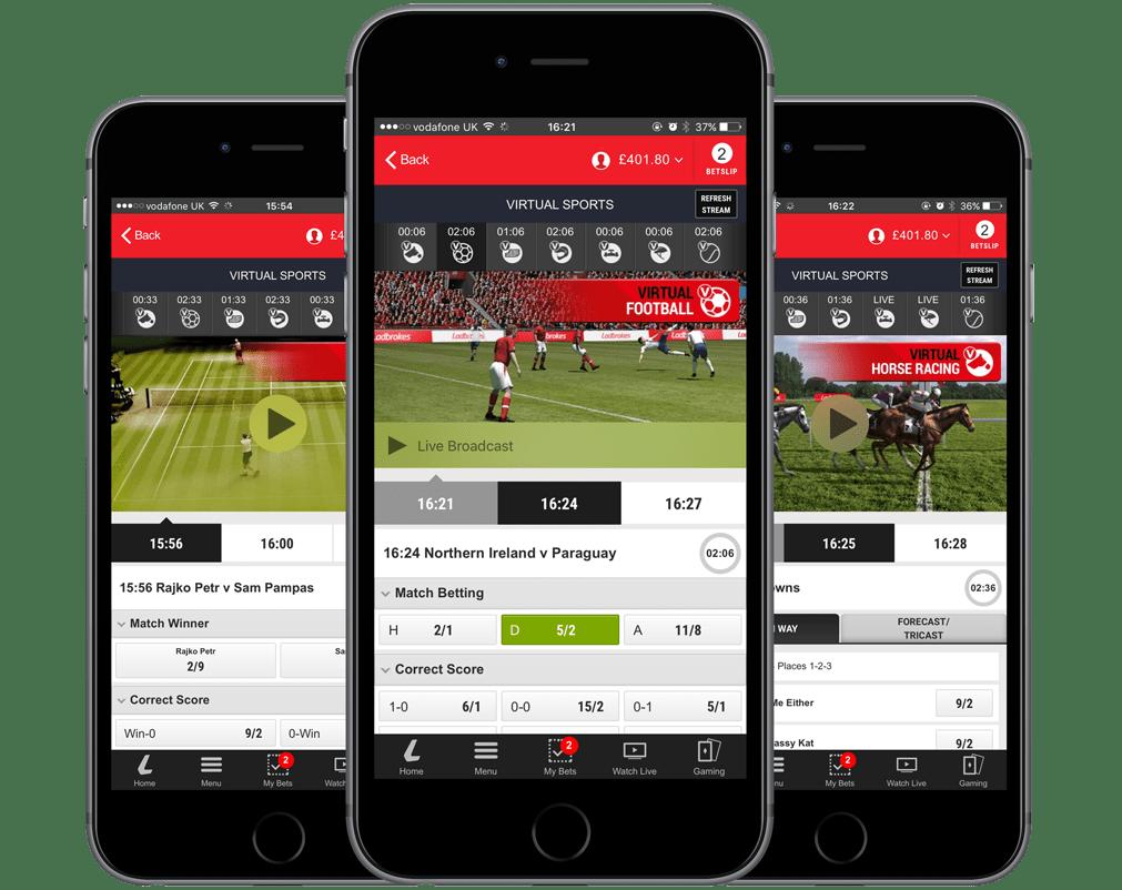 Virtuals Sports Mock Ups