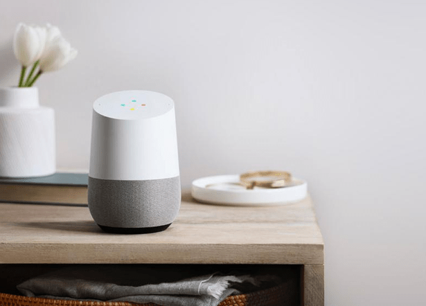 voice recognition smart speakers google home