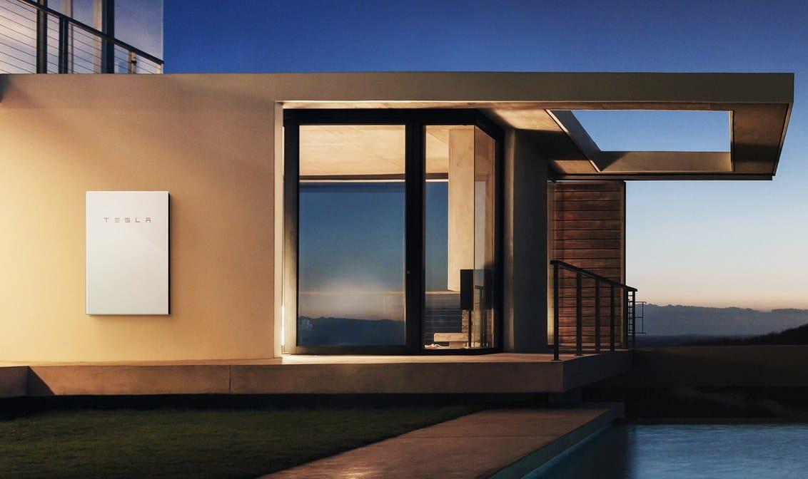 solar tiles power wall tesla