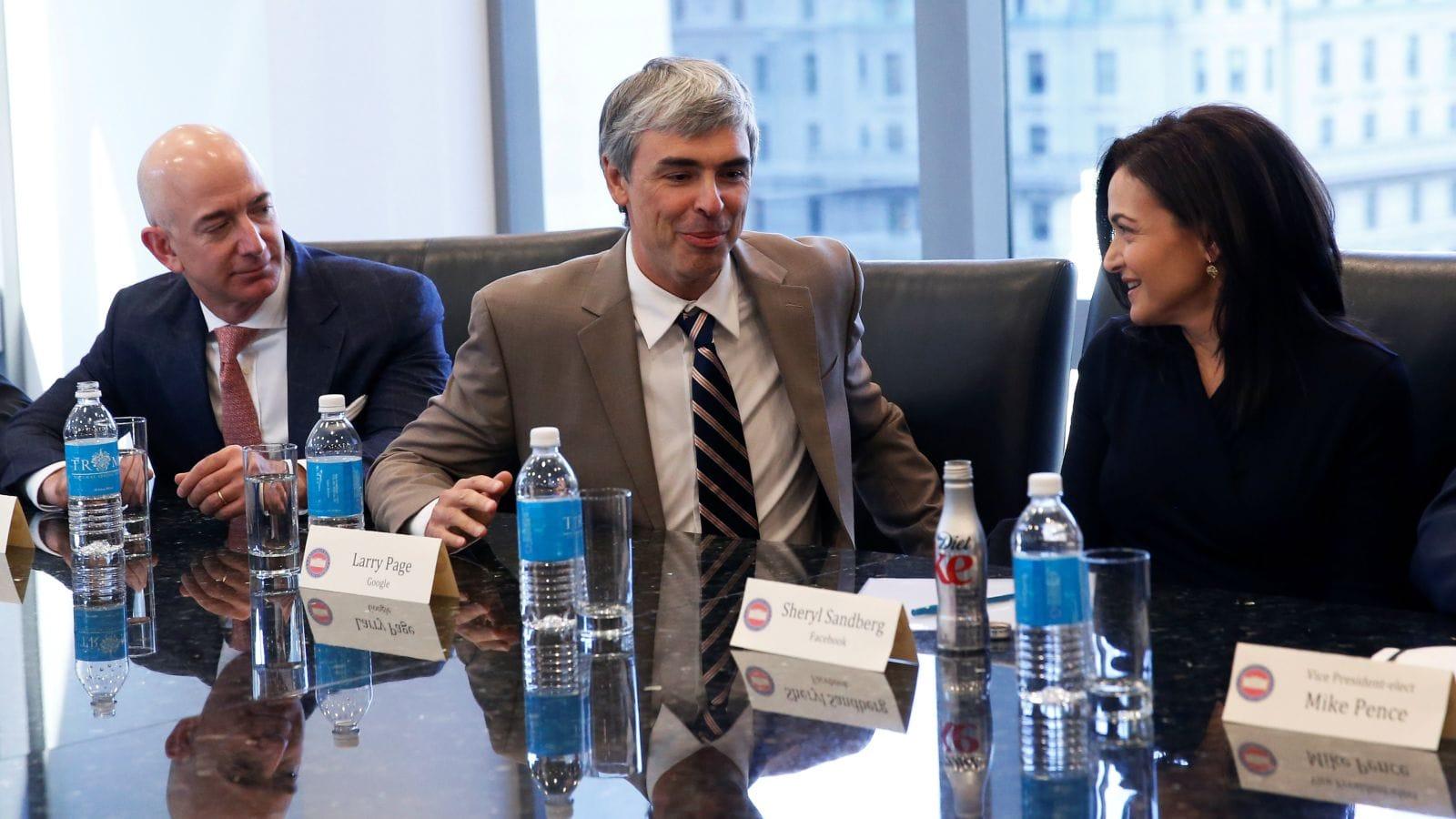 tech giants leaders