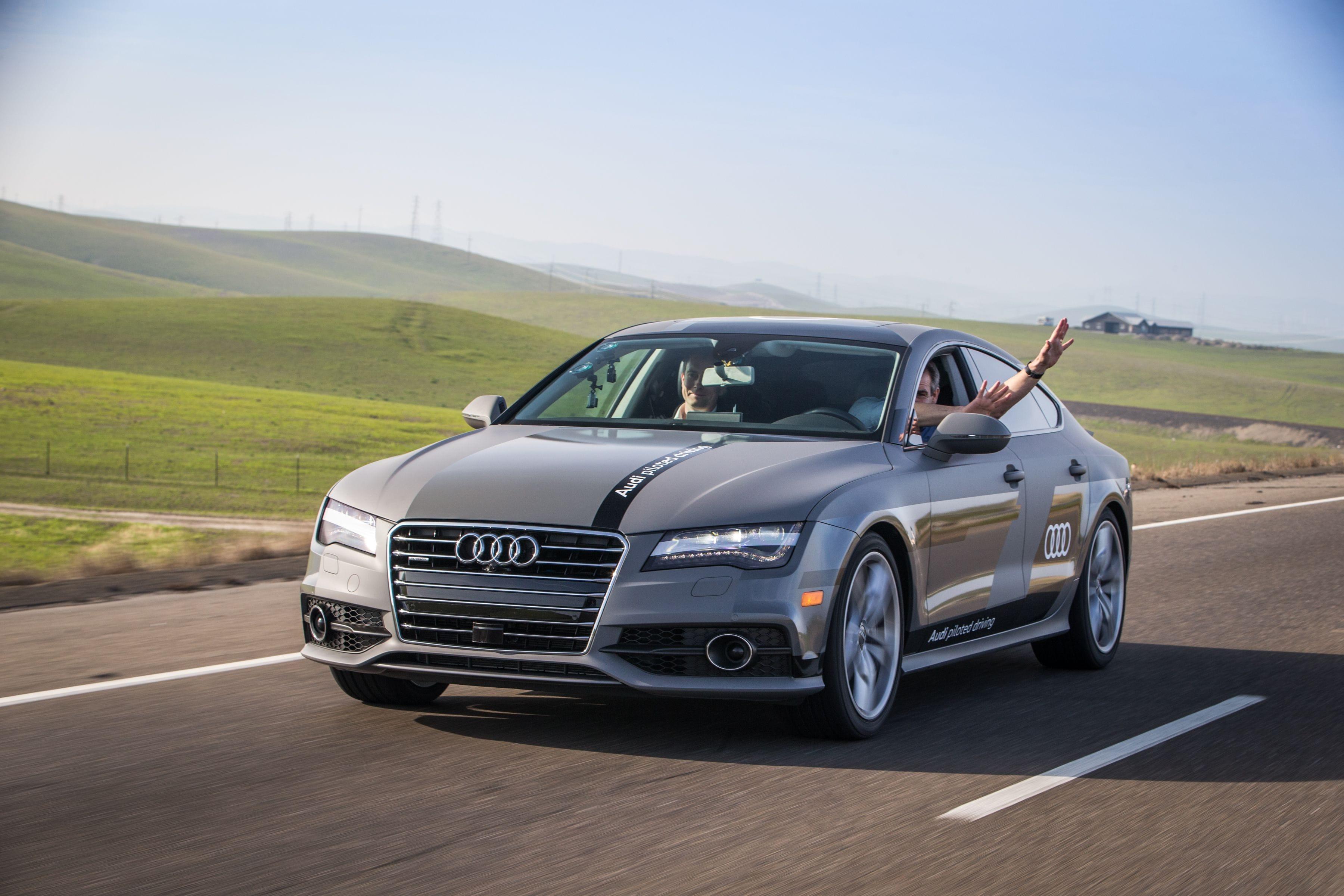 Audi autonomous car A7