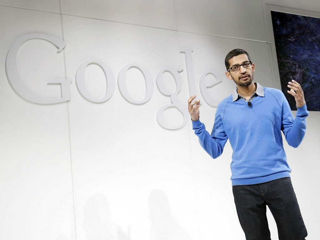 Google CEO Sundar Pichai. Image: Sam Churchill on Flickr