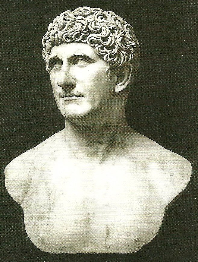 The Roman general and politician Mark Antony was the target of an ancient fake news campaign