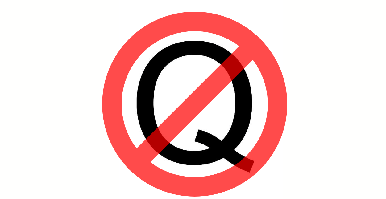The QAnon following on Reddit has been banned.