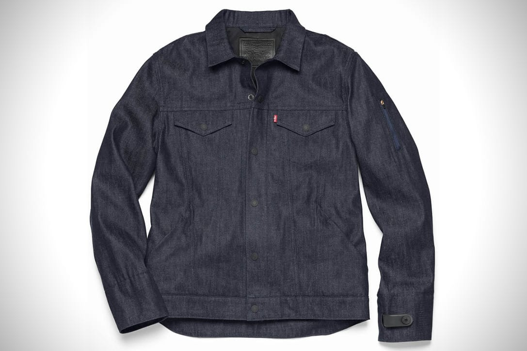 wearable technology google levi jacket