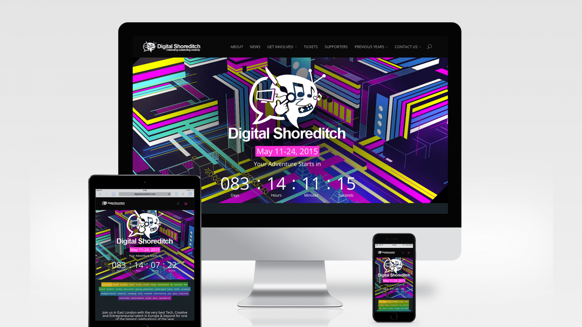 Highlights from Digital Shoreditch 2015