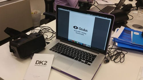 Oculus D2 on a Mac