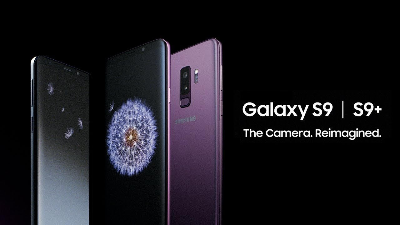 The new Samsung Galaxy S9. Source : Samsung.com